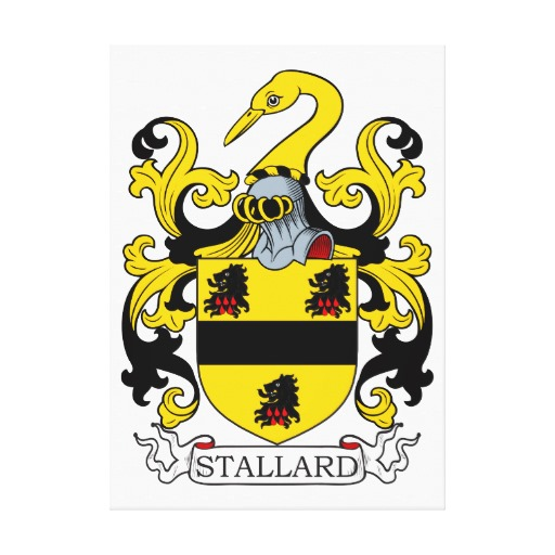 Stallard Coat of Arms with Crest